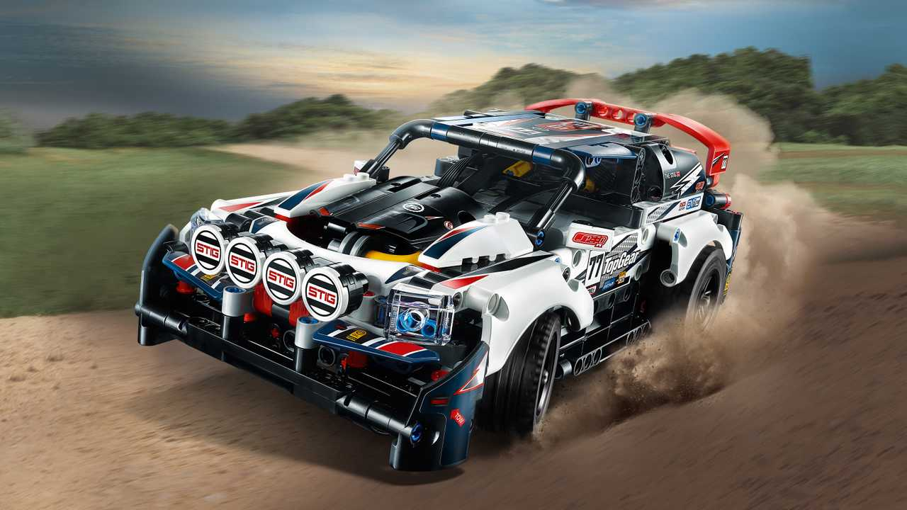 Top Gear Lego Technic: el coche de rallies