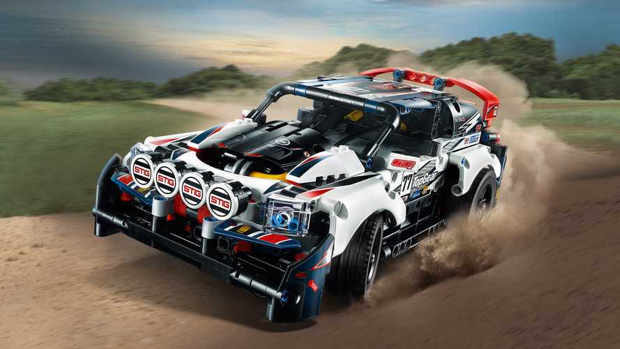 Top Gear tendrá un coche de rallies de Lego Technic