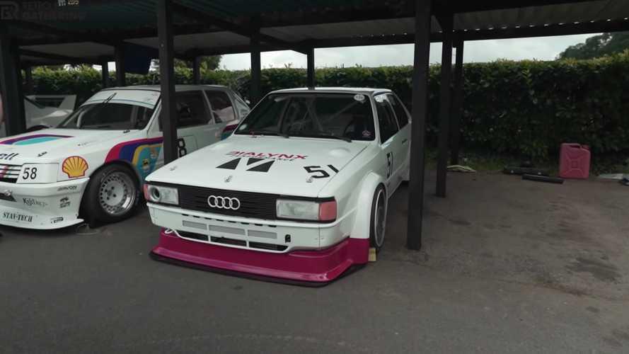 Videó: Két másodperc alatt százon van ez a tuningolt Audi 80 Quattro