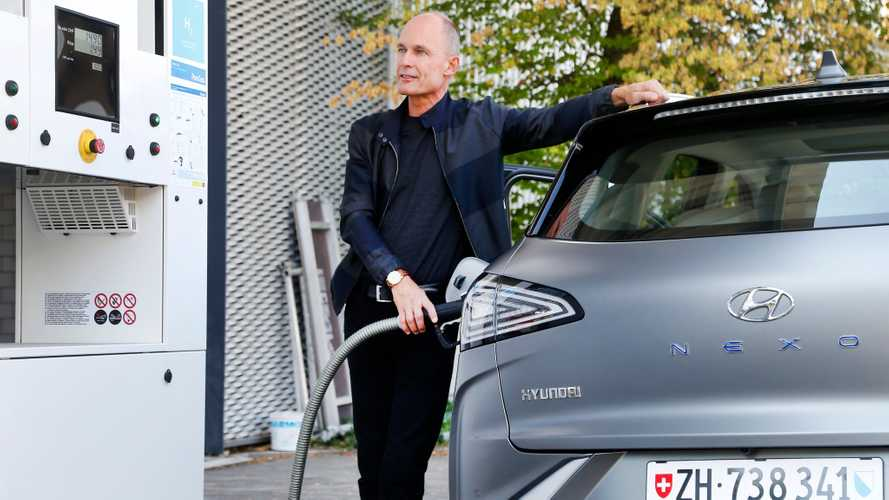 Record Hyundai Nexo / Bertrand Piccard