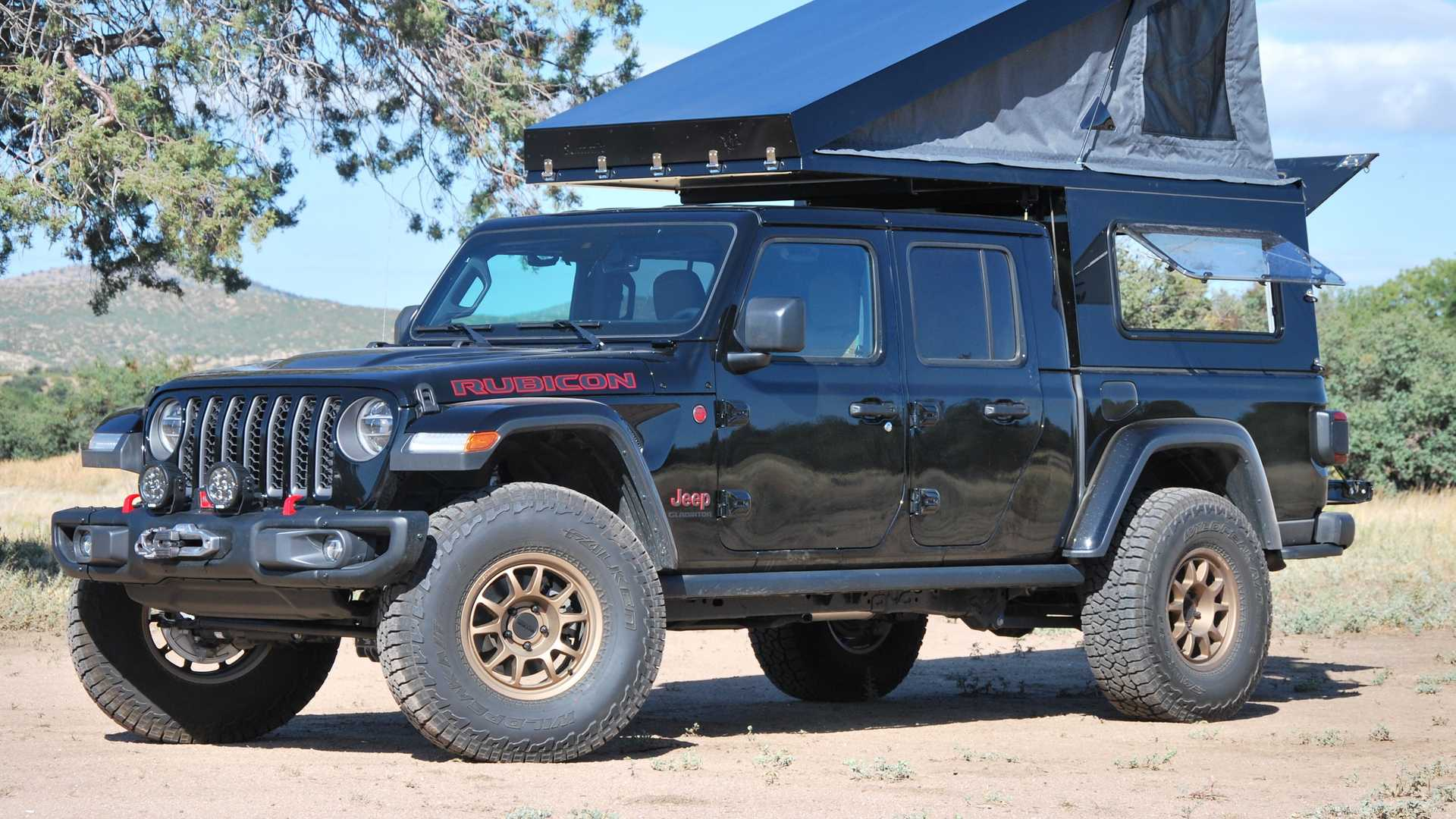 Jeep Gladiator Goes Overlanding With New At Summit Habitat Camper