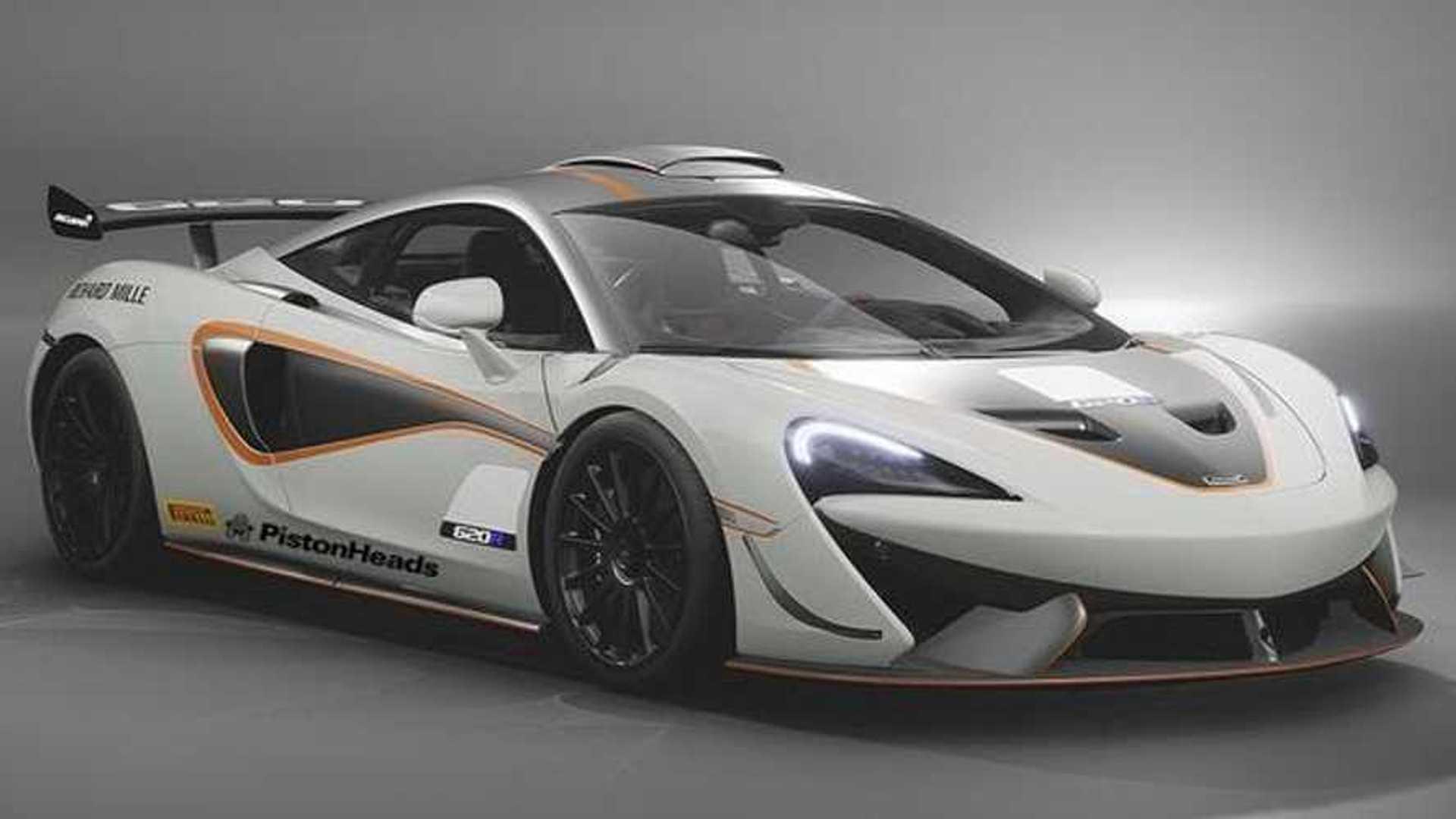 La McLaren 620R apparaît sur le net !