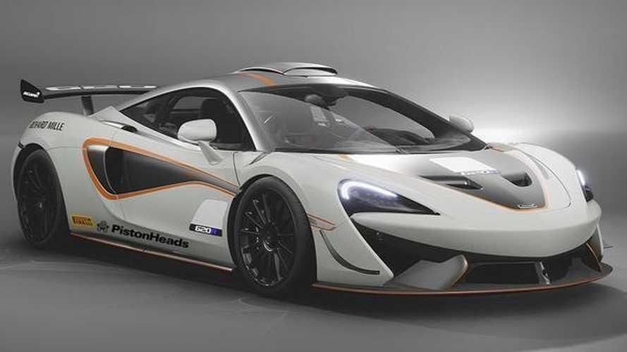 Kiszivárgott fotókon a hardcore specifikációjú McLaren 620R