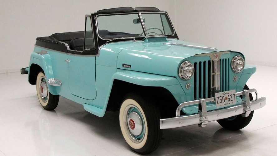 1949 Willys Jeepster Provides Sporty Freedom