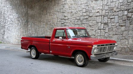 For under 14k take home this two owner 1974 ford f100