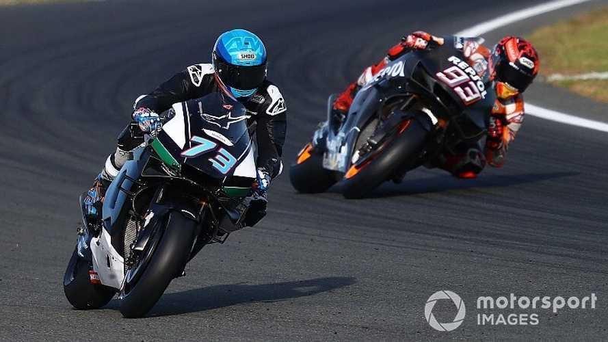 """Alex Márquez: """"Marc me dice poco porque ya me vio rápido en alguna curva"""""""