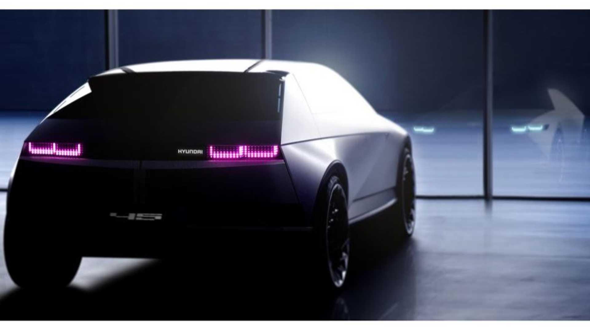 1970's-Inspired Hyundai『45』Concept Looks Retro Spectacular