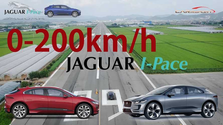 Watch Jaguar I-Pace perform impressive high-speed run