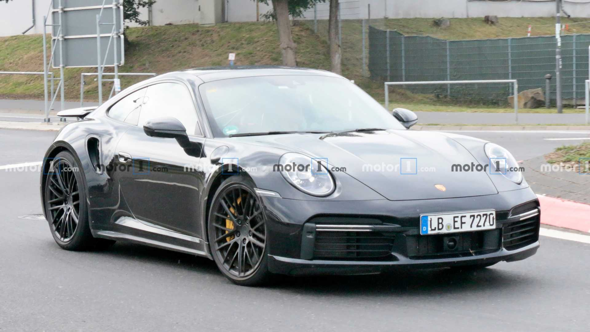 2020 Porsche 911 Turbo S Could Make 641 HP When It Debuts