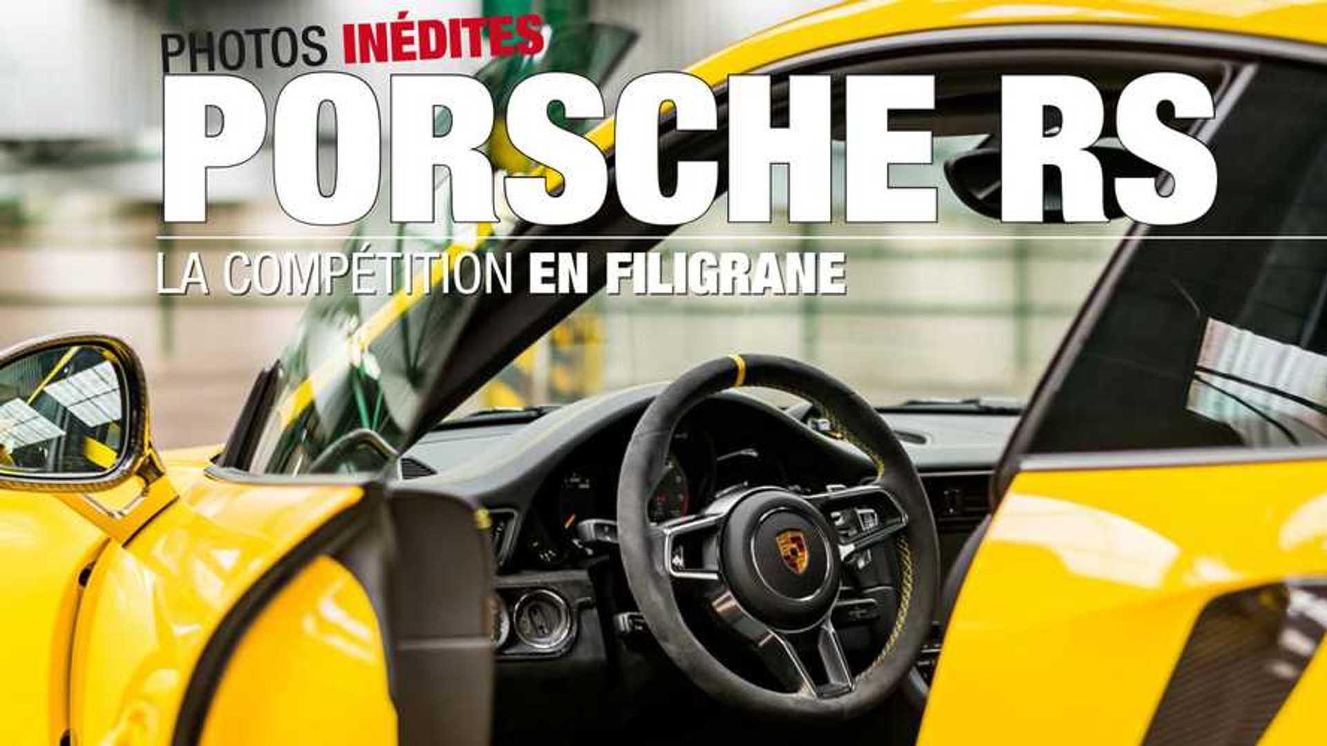 Idée cadeau - Porsche RS, la compétition en filigrane
