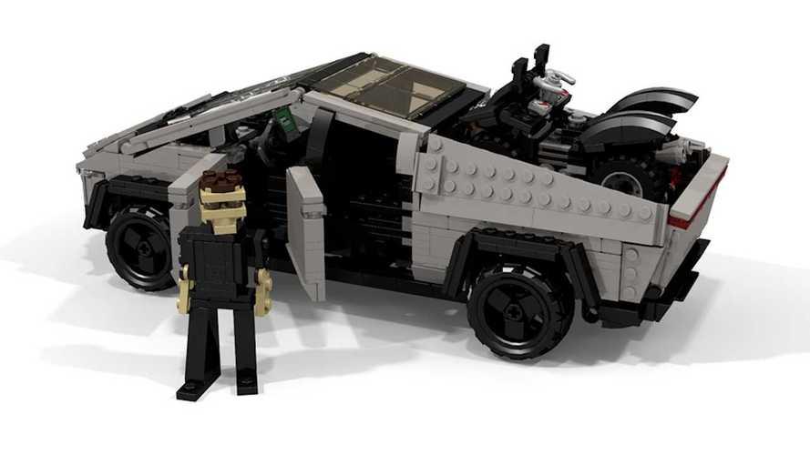 Tesla Cybertruck, la versione Lego e la Plaid da 800 cavalli