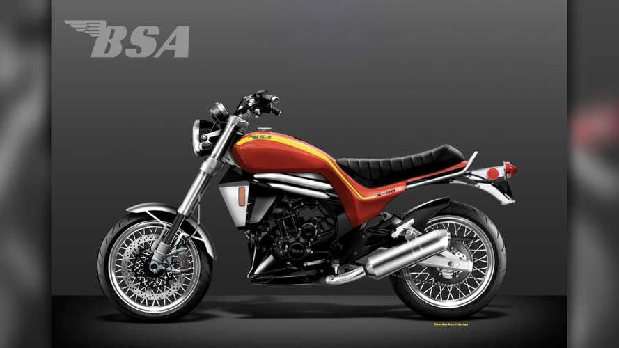 What Do You Think Of This Hurricane-Inspired Modern-Day BSA?
