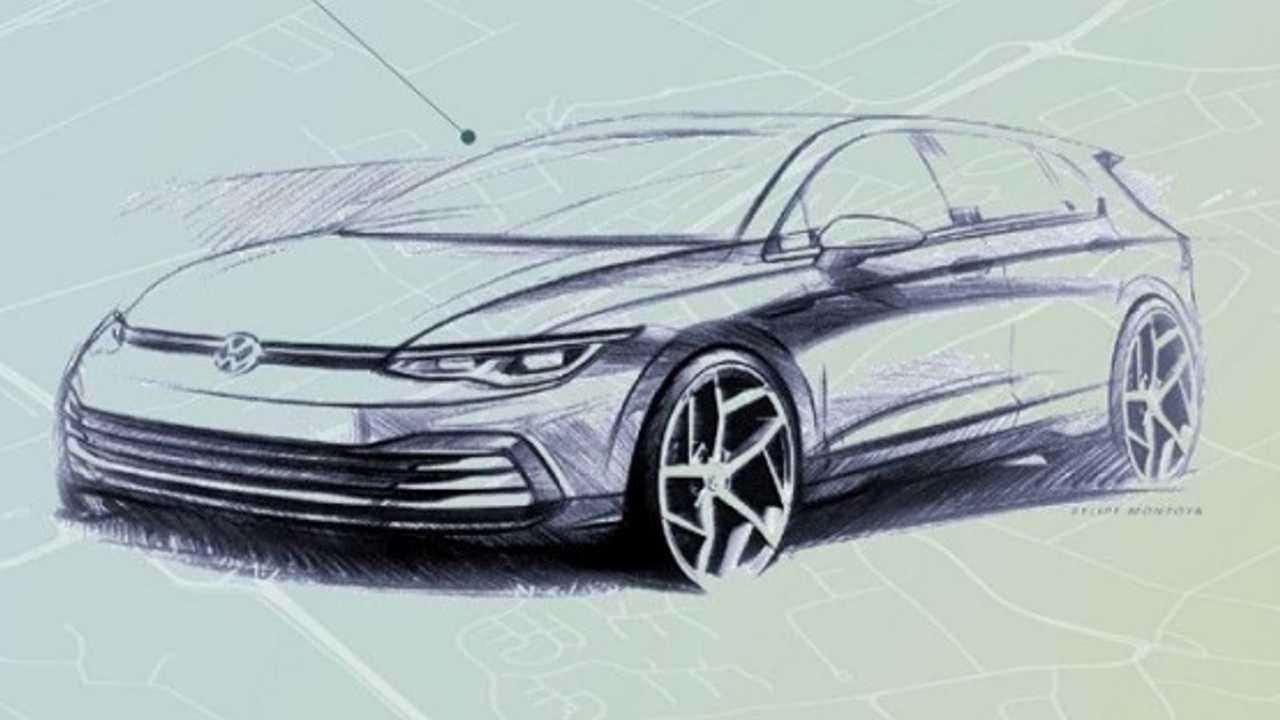 Volkswagen Golf 8 - il design degli esterni