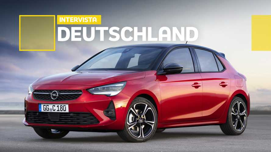 Nuova Opel Corsa, tedesca prima di tutto