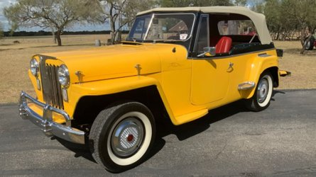 Under 20k gets you this 1948 willys jeepster