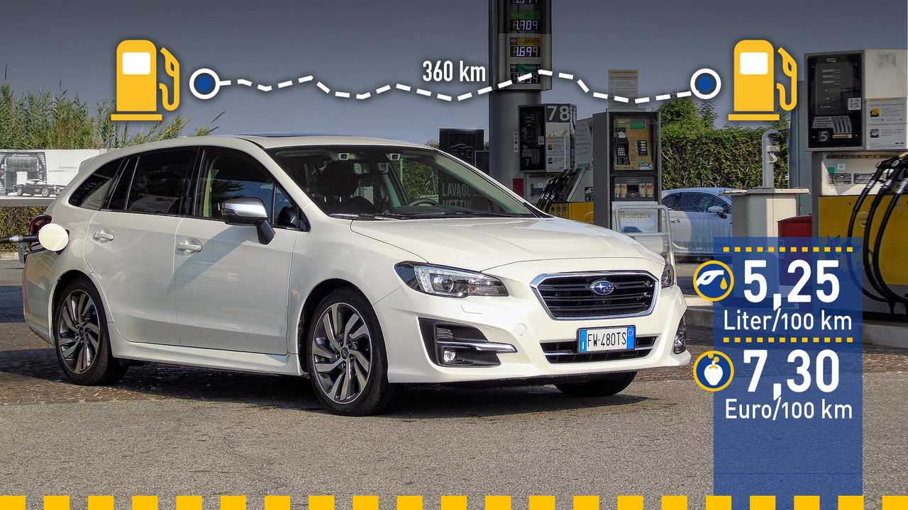 Subaru Levorg im Verbrauchstest (2019)