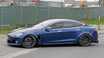 Nouvelles photos de la Tesla Model S Plaid