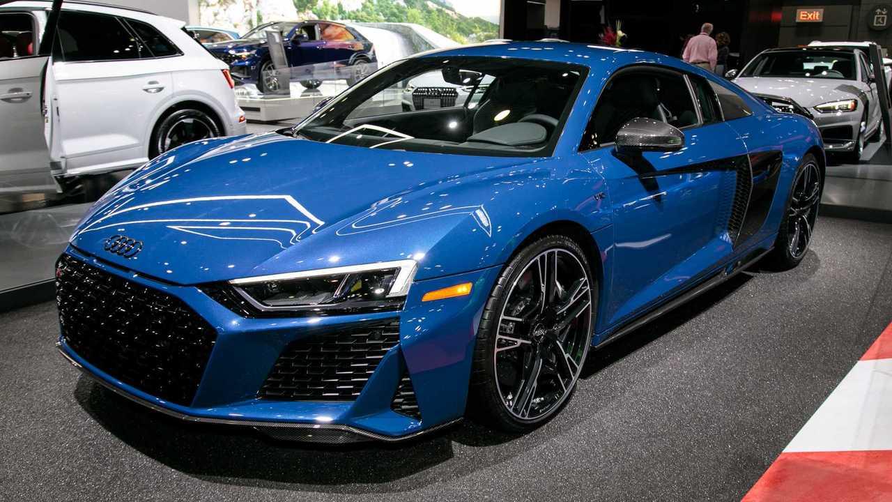 Audi R8 V10 Decennium Celebrates 10 Years Of The 5 2 Fsi