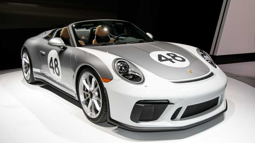2019 Porsche 911 Speedster Races Into New York With 502 HP [UPDATE]