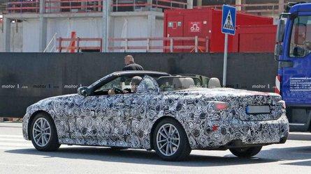Yeni BMW 4 Serisi Cabrio üstü açık yakalandı