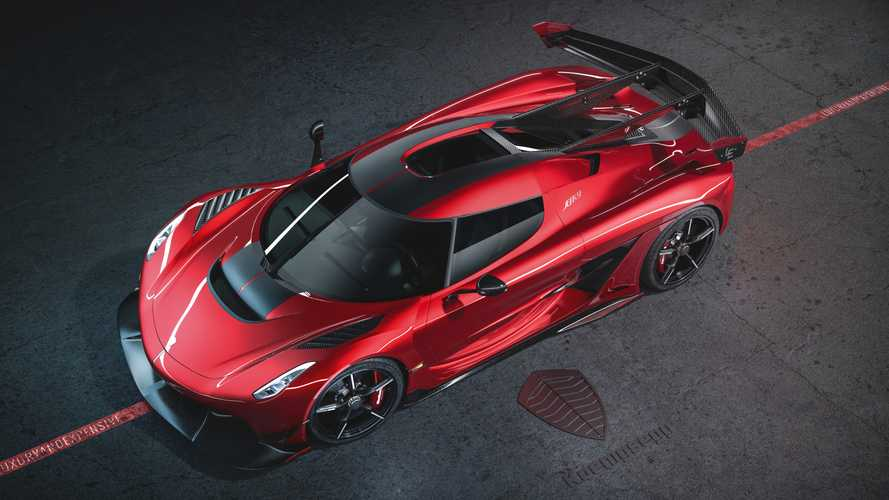 Koenigsegg Jesko Red Cherry Edition is ready to pop