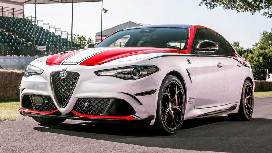 F1-inspired Alfa Romeo Racing models make UK debuts at Goodwood