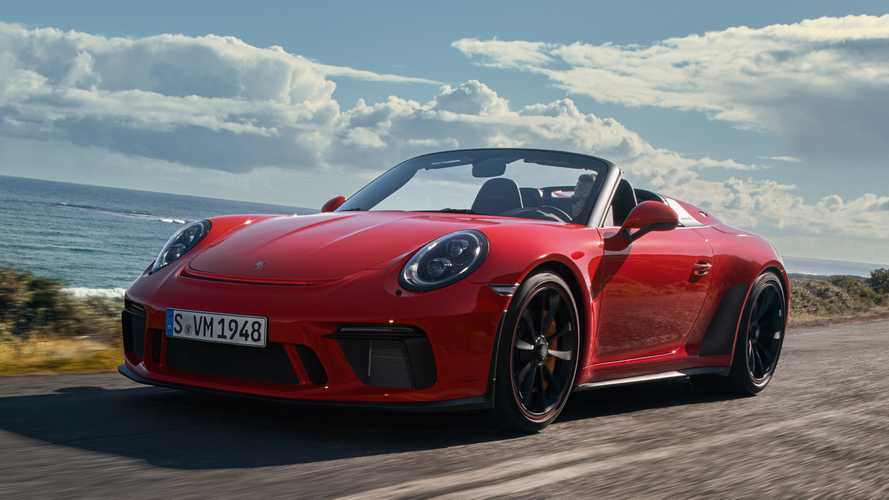 2019 Porsche 911 Speedster races into New York with 502 bhp