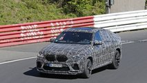 BMW X6 M new spy photos