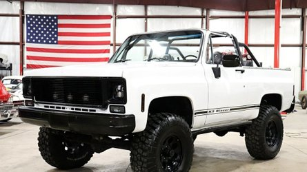 Let nothing stand in your way in this 1975 chevrolet blazer k5