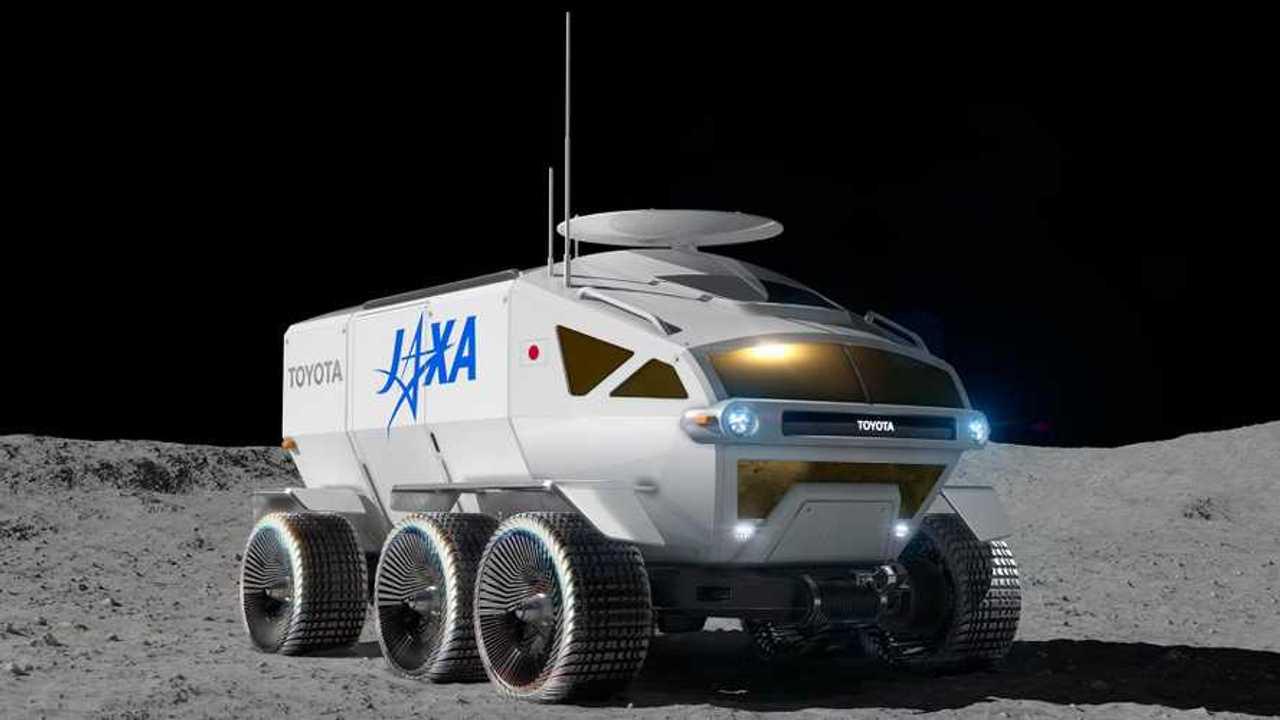 Toyota vehículo exploración lunar ejercicio de estilo