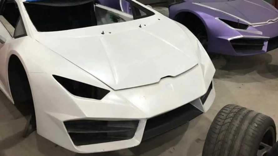 Fábrica clandestina de Ferrari e Lamborghini