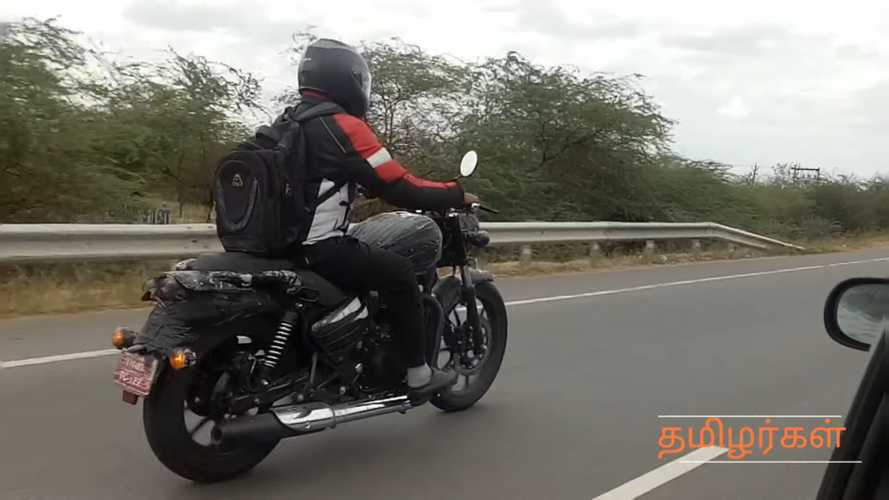2020 Royal Enfield Thunderbird 350X Spotted Spreading Its Wings