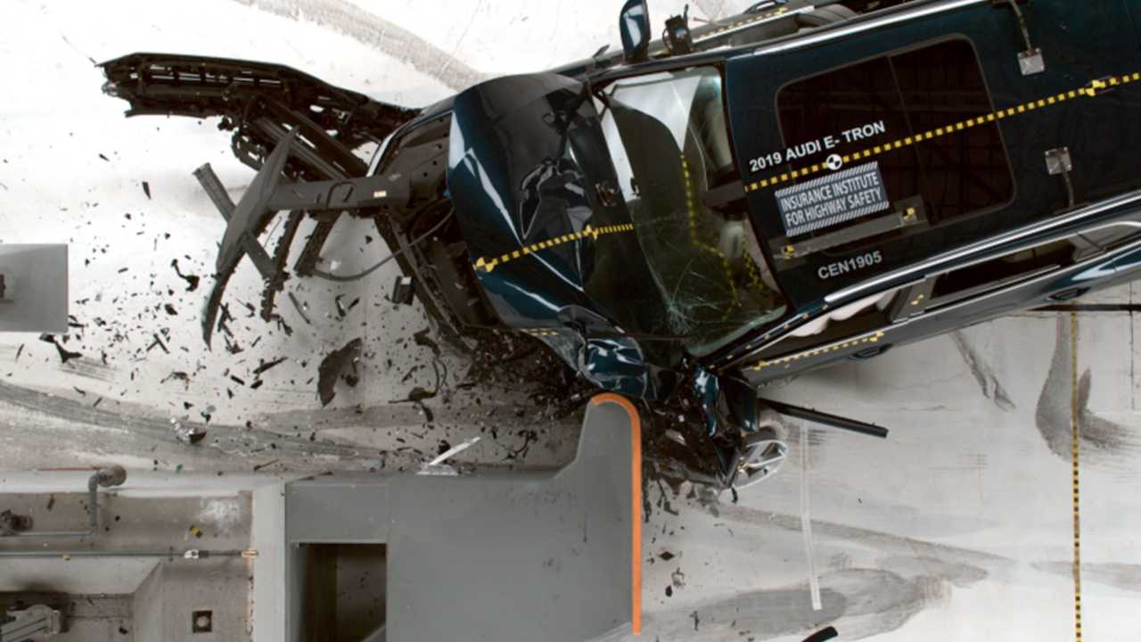 First Top Safety Pick+ BEV, E-Tron Quattro May Be Followed By Model 3