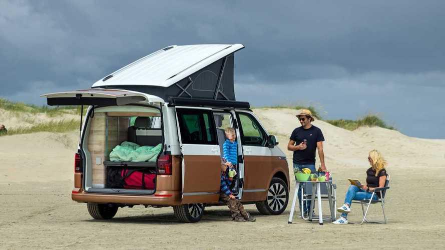 Volkswagen T6.1 California, tecnologia all'aria aperta