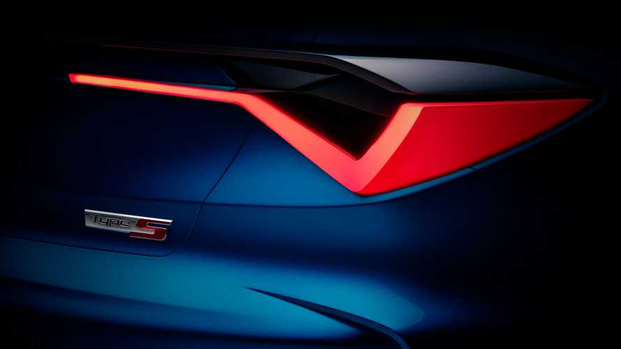 Acura Type S Concept teased, signals return of sporty sub-brand