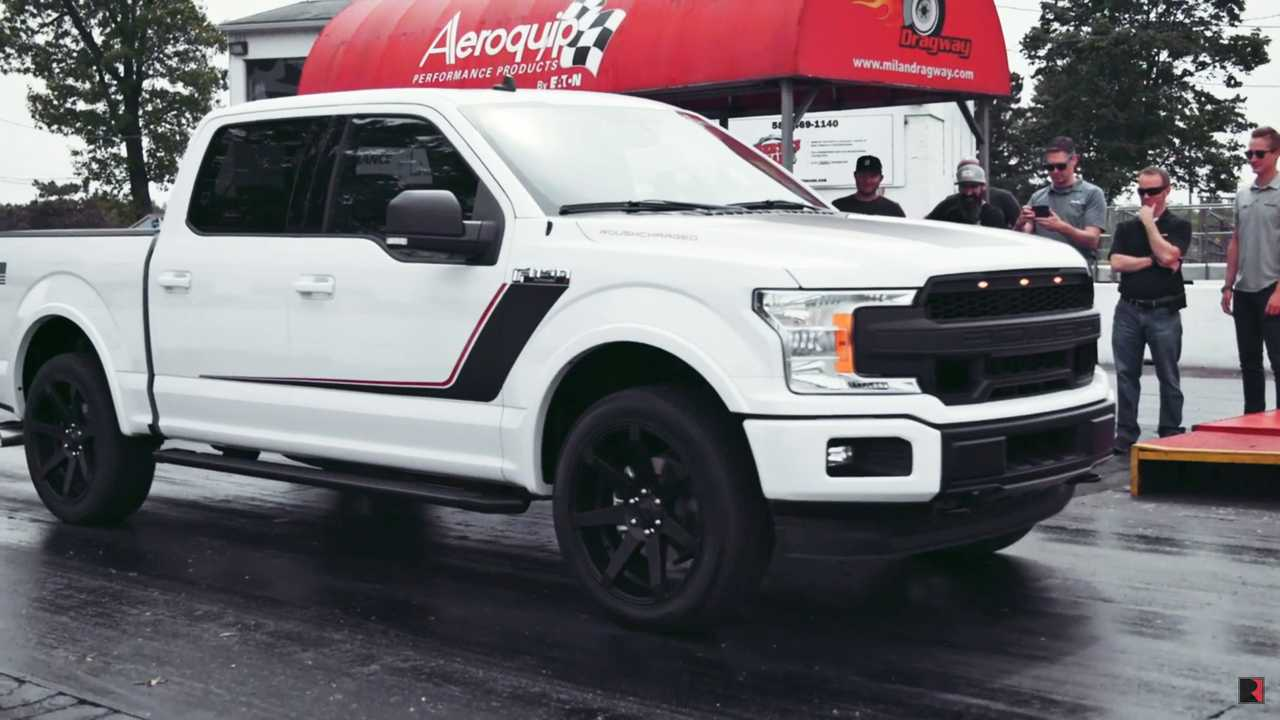 roush claims   nitemare  worlds quickest production truck