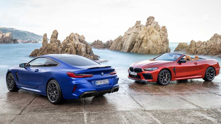 2020 BMW M8 Debuts In Coupe, Cabrio, And Competition Trim