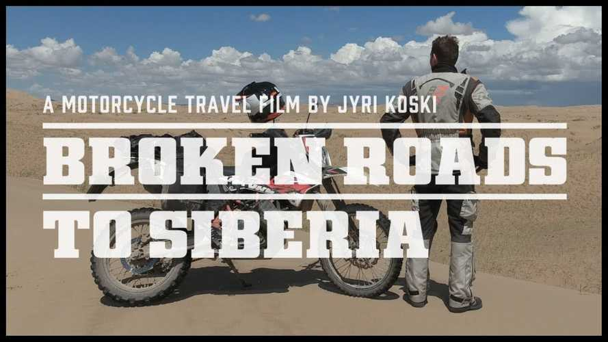 Watch Two Guys Ride Across Siberia On Enduros