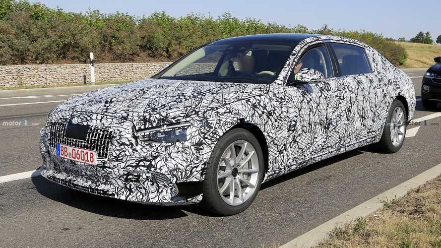 New Mercedes-Maybach S-Class Caught With Pop-Out Door Handles