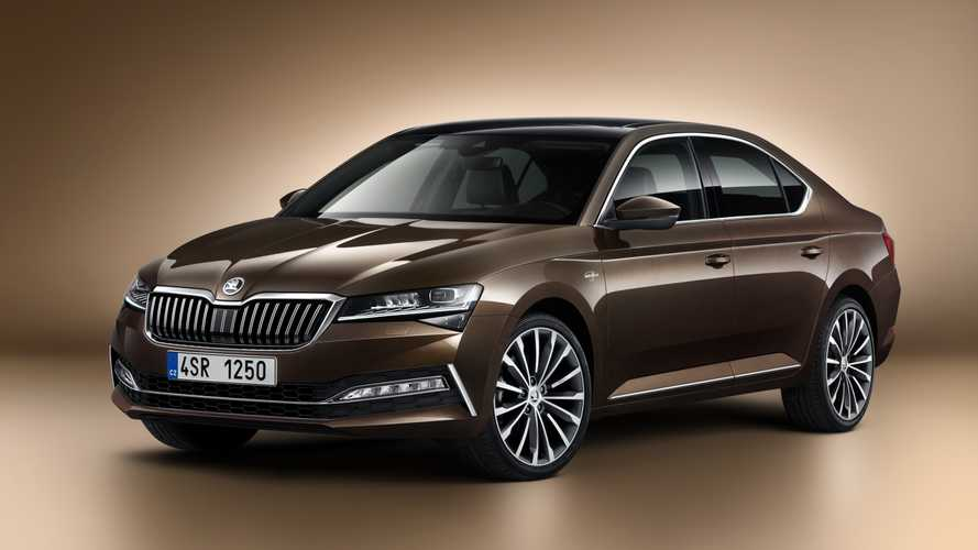 2020 Skoda Superb facelift revealed with plug-in hybrid