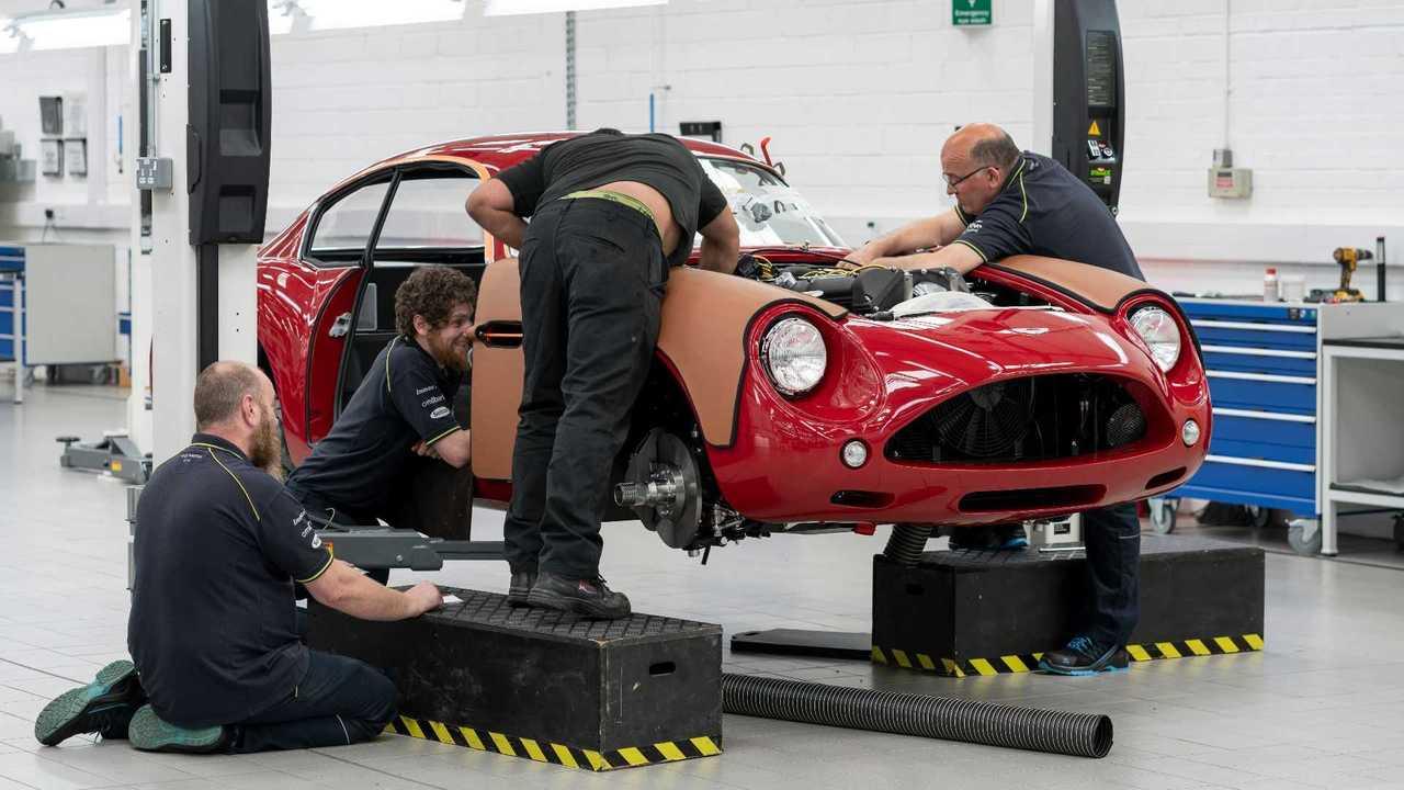 Aston Martin Handcrafts 19 DB4 GT Zagato Continuation Models