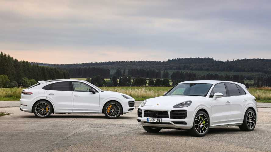 2020 Porsche Cayenne Turbo S E-Hybrid, Coupe Turbo S E-Hybrid, and Coupe E-Hybrid