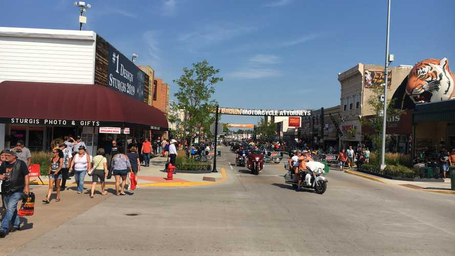 Arrests Up, Crashes Down At This Year's Sturgis Rally