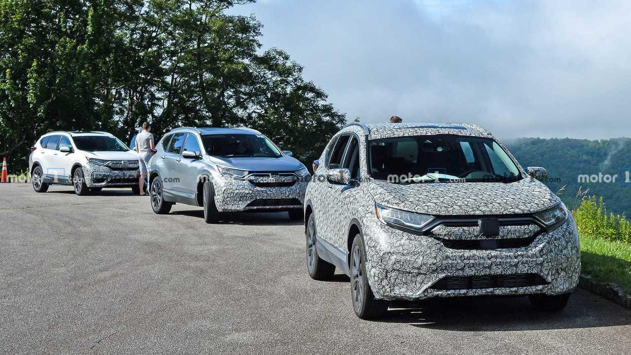 2020 Honda CR-V casus fotoğraf