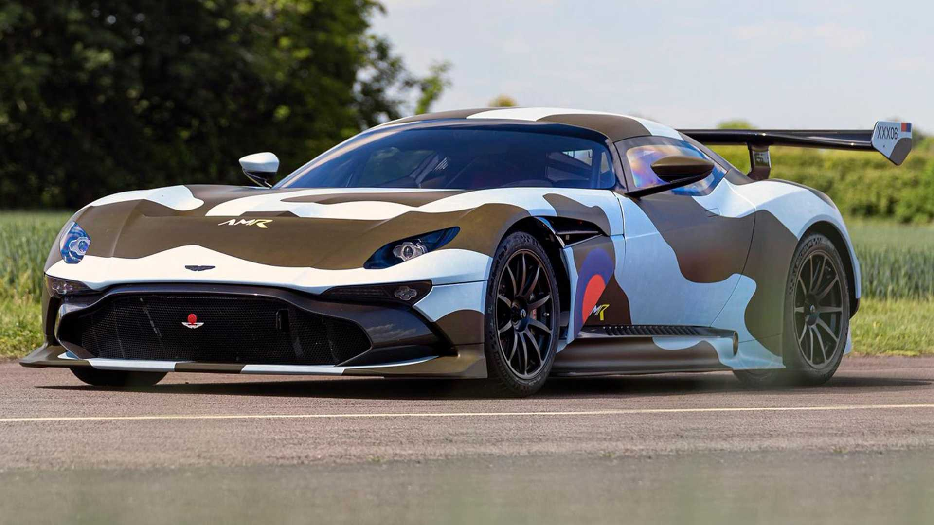 Aston Martin Vulcan Bomber Readies For Gumball 3000
