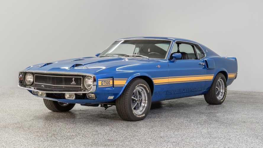 Restored 1969 Shelby GT500 Is Refreshingly Different