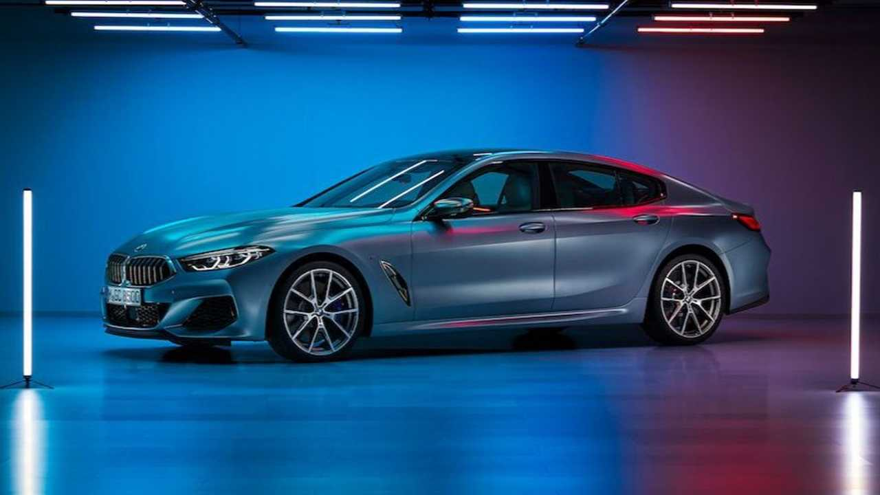 BMW 8 Series Gran Coupe leaked image
