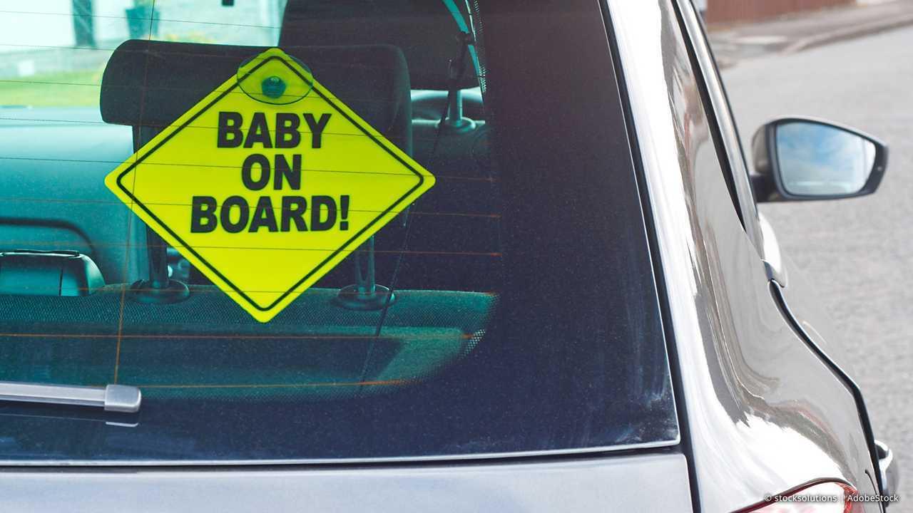 Auto-Accessoires der 70er bis 90er: Baby on Board