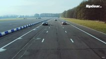 Audi RS5 Drag Races Porsche Cayman GTS And Lotus Exige