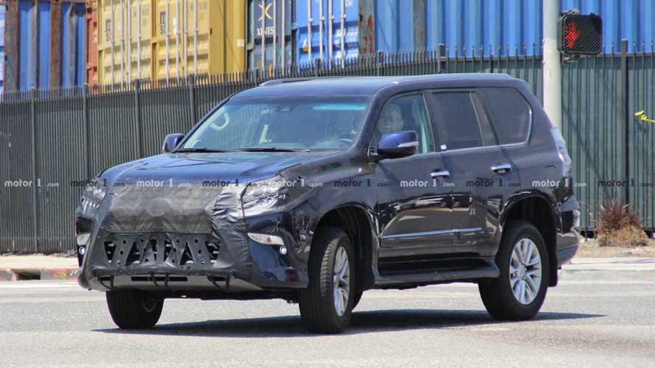Lexus GX Spy Shots